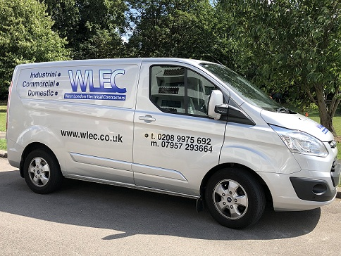 West London Electrical Contractors Ltd Van