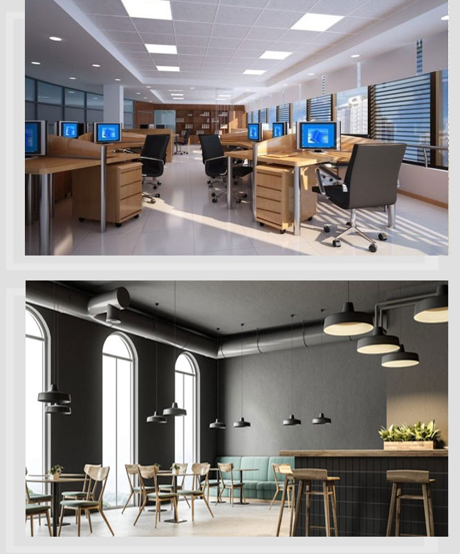 Commercial LED Lighting Installations